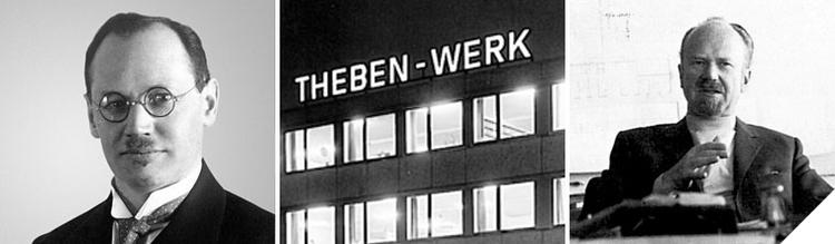 "Theben AG 1921 to 2011: Discover 90 years of high-tech ""Made in Germany""."